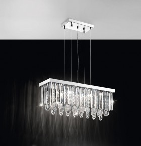 EGLO 93422 - SUSPENSION  CRYSTAL - CALAONDA