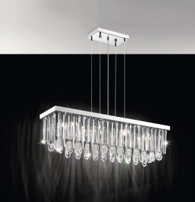 EGLO 93423 - SUSPENSION  CRYSTAL - CALAONDA