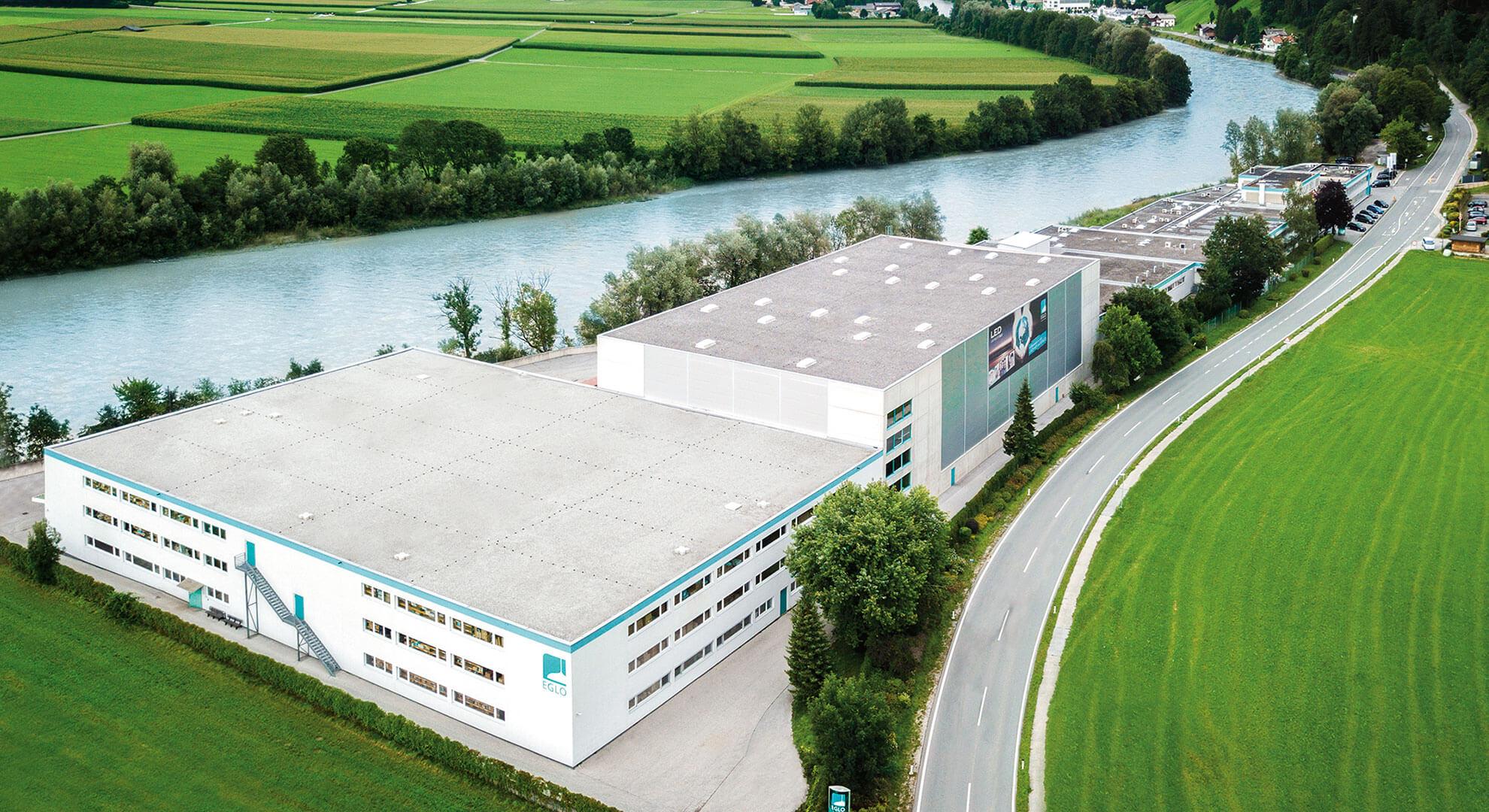 Siège d'EGLO à PILL en Autriche